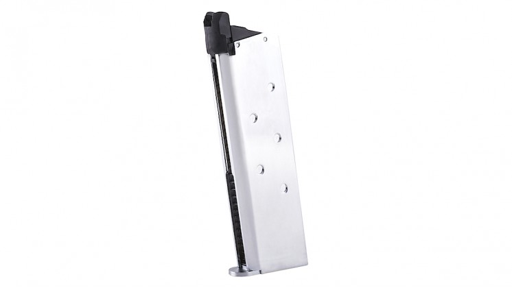 TOKYO MARUI M1911A1 Government 26RD Magazine (Chrome Stainless)
