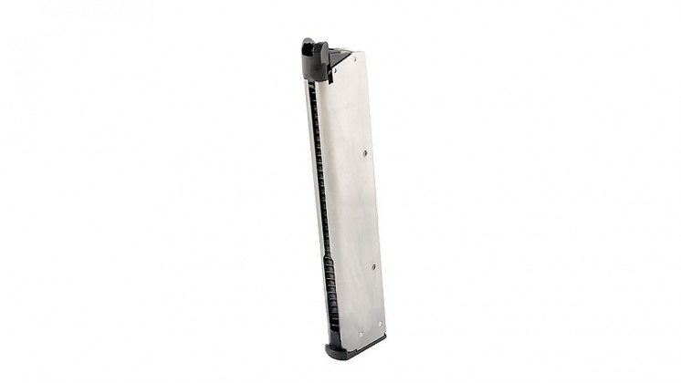 TOKYO MARUI M1911A1 Government 40RD Long Magazine (Chrome Stainless)