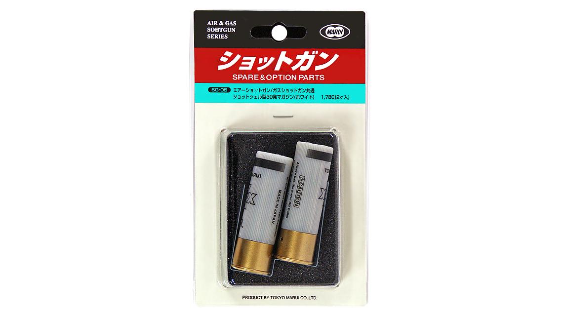 TOKYO MARUI 30RD SHOT SHELL (White, 2PCS)