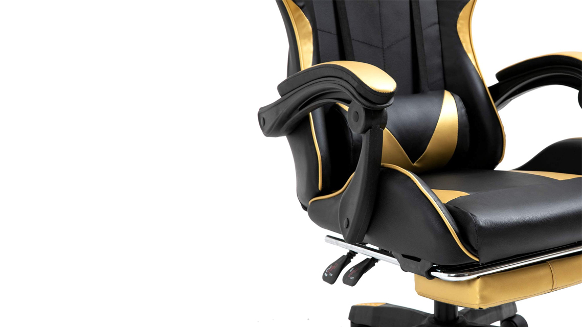 PUDINBAG GC01 Computer Gaming Chair (Gold)