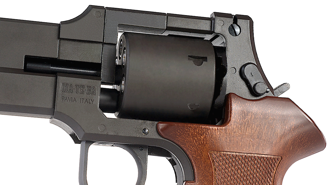 MARUSHIN MATEBA X-Cartridge Gas Revolver (6mm, Plastic Grip)