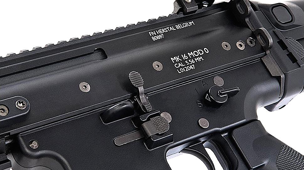 TOKYO MARUI SCAR-L CQC AEG Rifle (Black, Next Gen)