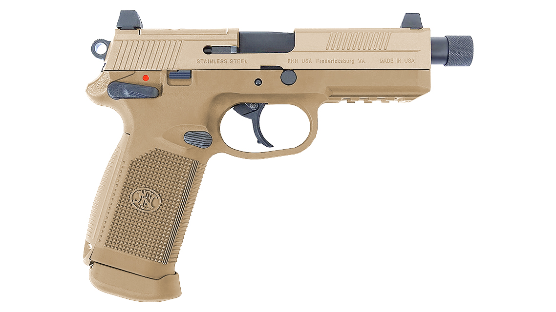 CYBERGUN FNX 45 TACTICAL GBB PISTOL (DARK EARTH)