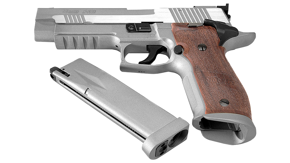 CYBERGUN SIG SAUER P226 X-FIVE GBB PISTOL (CO2, SILVER)