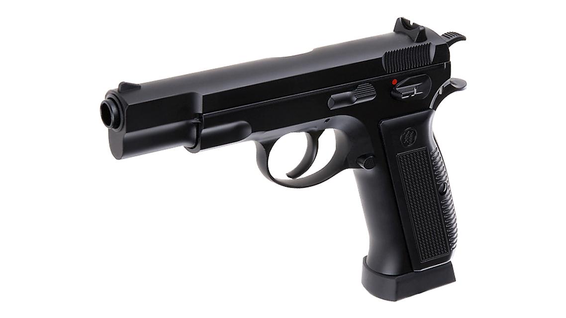 KJ WORKS CZ 75 KP-09 GBB Pistol (CO2)