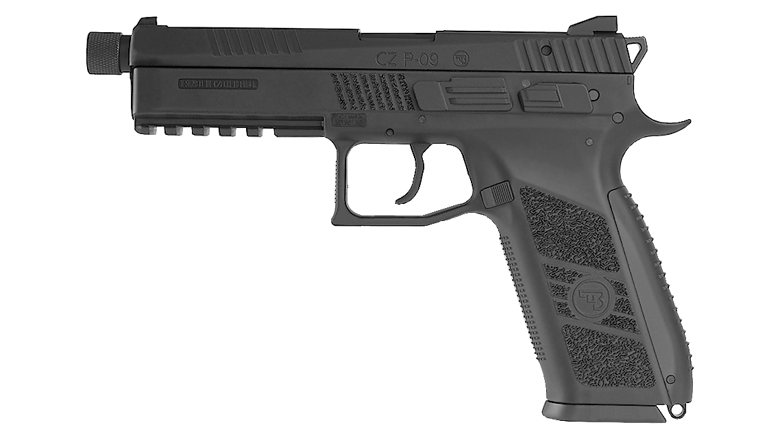 KJ WORKS CZ 75 P-09 Tactical GBB Pistol (GAS)