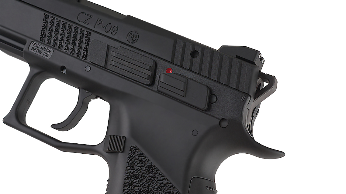KJ WORKS CZ 75 P-09 Tactical GBB Pistol (CO2)