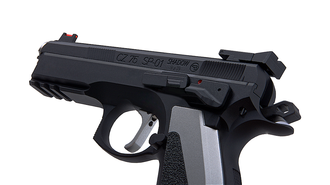 KJ WORKS CZ 75 SP-01 SHADOW ACCU CUSTOM GBB Pistol (CO2)