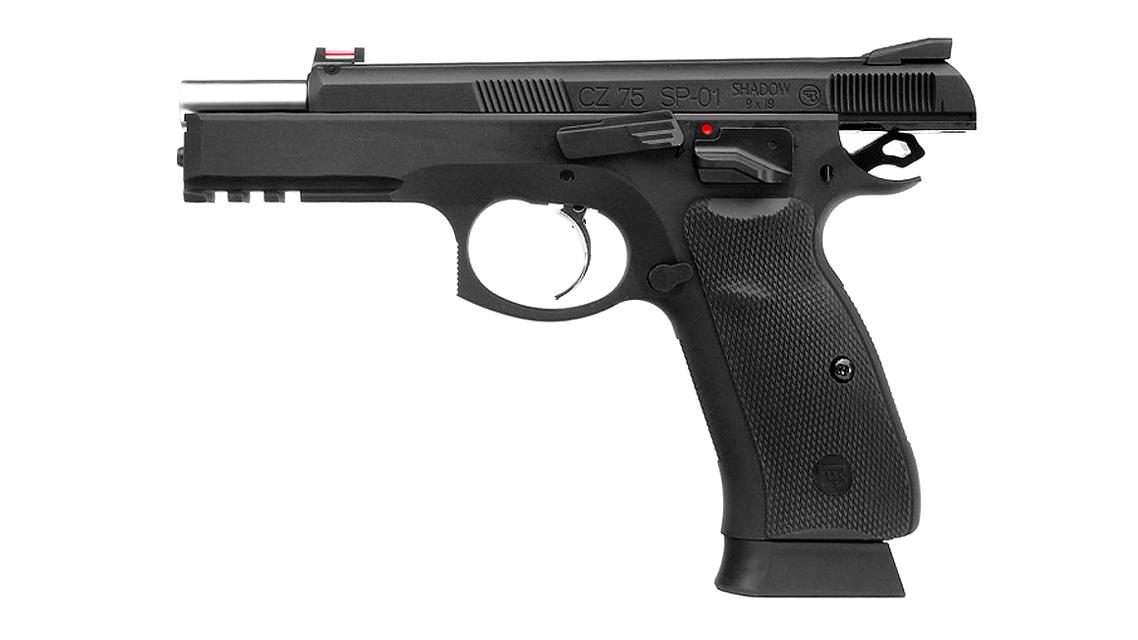 KJ WORKS CZ 75 SP-01 Shadow GBB Pistol (ASG, CO2)