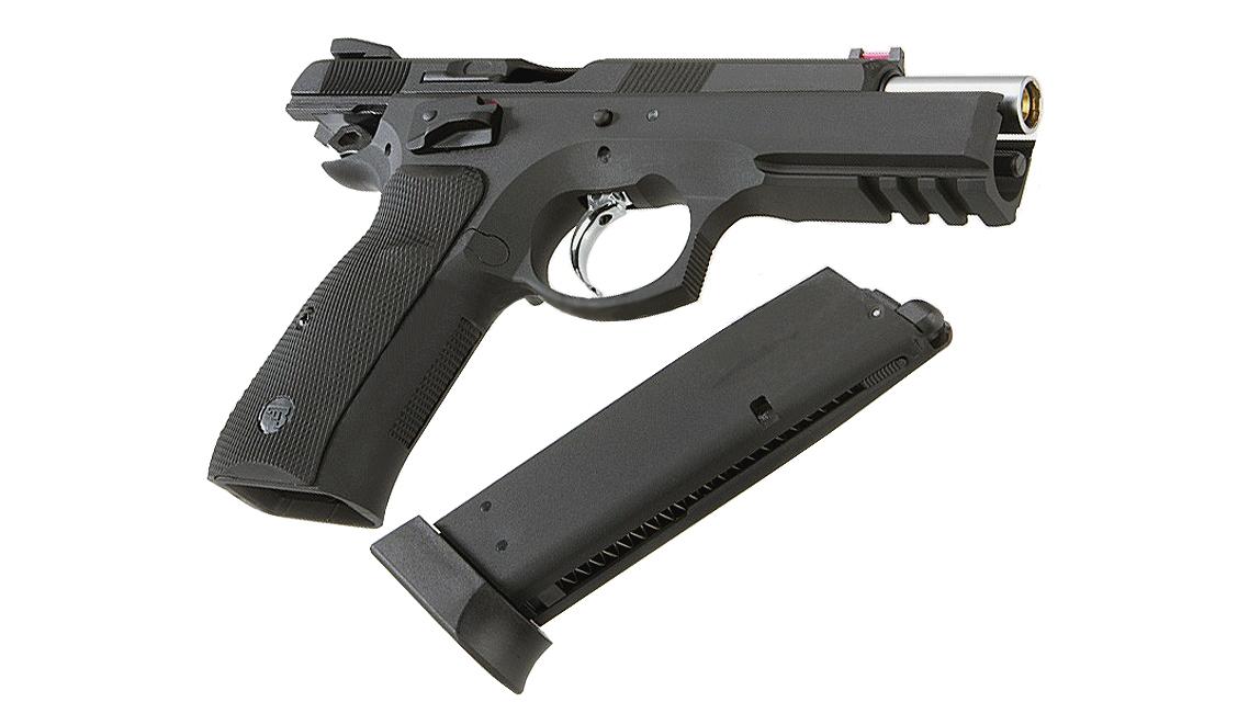 KJ WORKS CZ 75 SP-01 Shadow GBB Pistol (ASG)