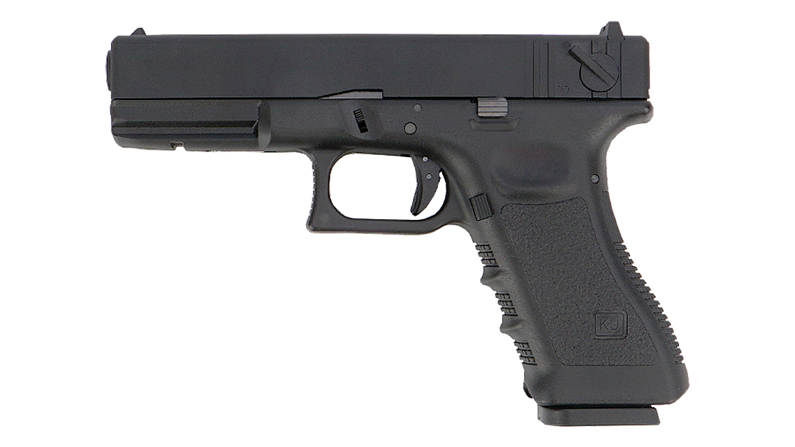 KJ WORKS KP-18 GBB PISTOL (G18  CO2)