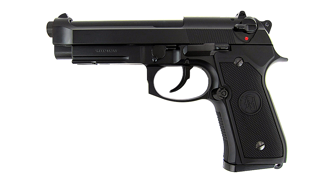 KJ WORKS M9A1 GBB Pistol  (Full Metal, Black, Gas)
