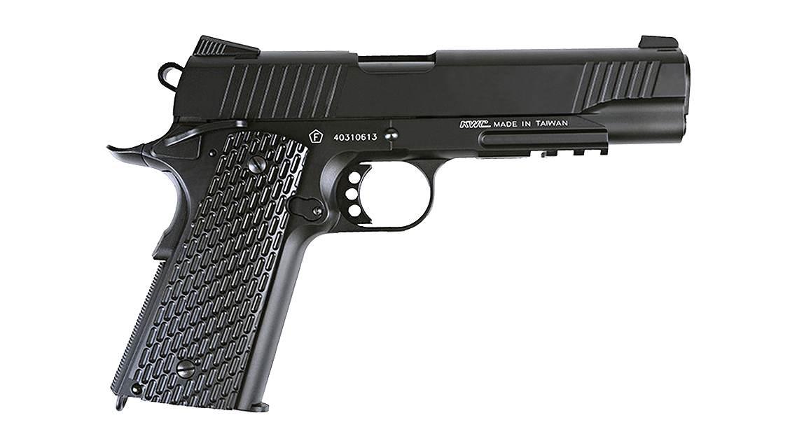 KWC M1911 A1 TAC GBB Pistol (CO2, 6mm)