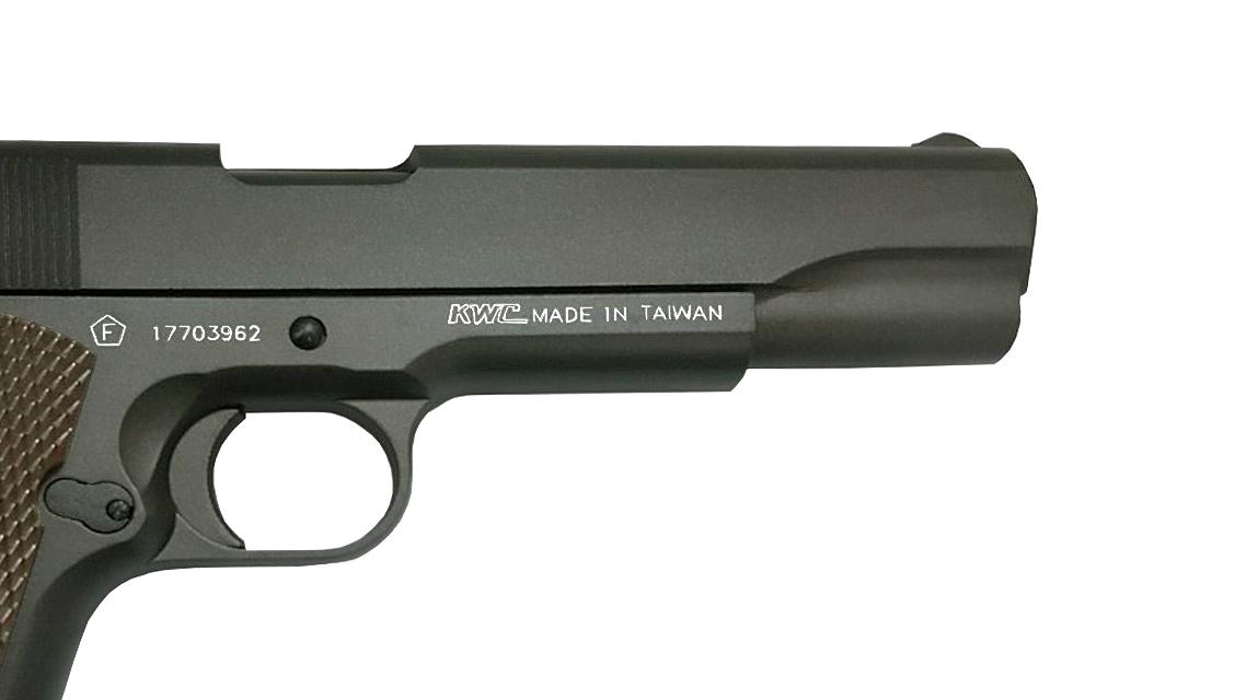 KWC M1911 GBB Pistol (CO2, 6mm)