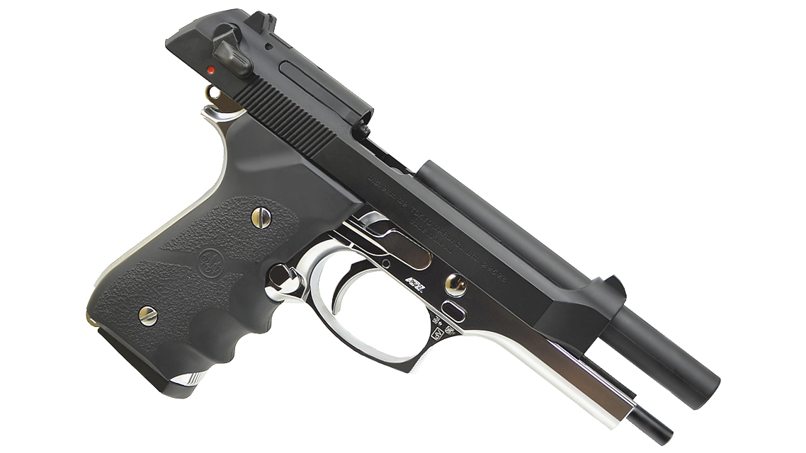TOKYO MARUI M92F MILITARY GBB Pistol (Silver Frame)