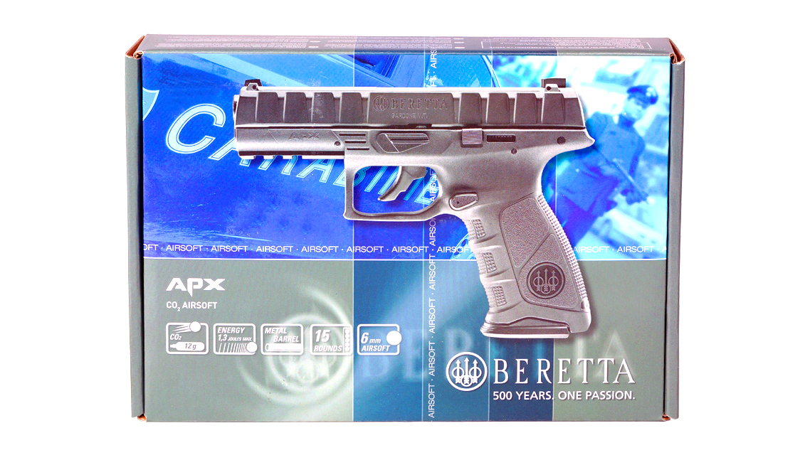 UMAREX BERETTA APX GBB Pistol (CO2, 6mm)