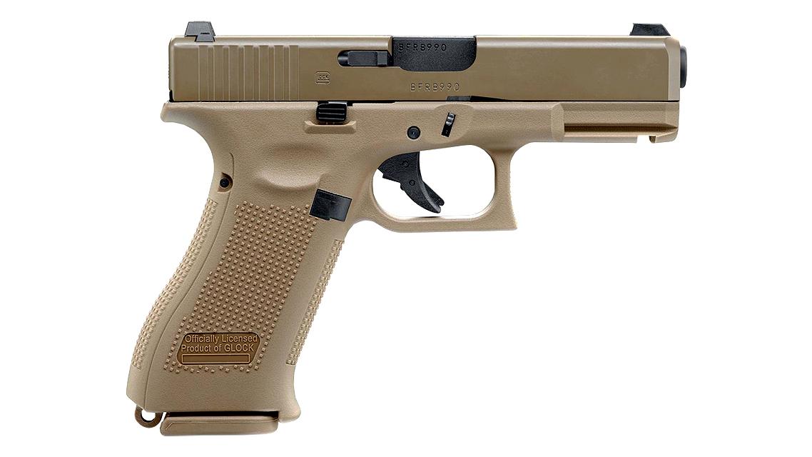 UMAREX GLOCK 19X GBB Pistol (TAN, 6mm, VFC)