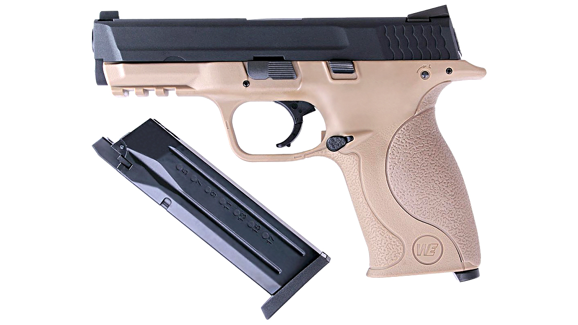 WE M&P 40 GBB Pistol (FDE)