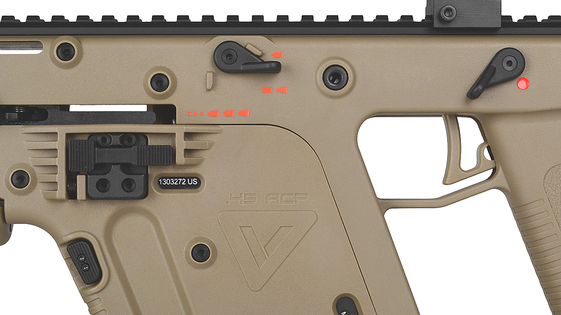 KWA KRISS Vector GBB SMG (Tan)