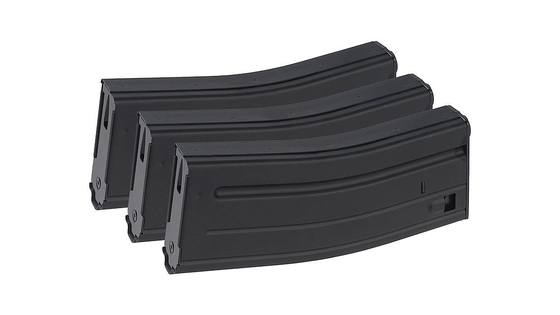 VFC SCAR M4 M16 120RD AEG Magazine (BLACK 3PCS)
